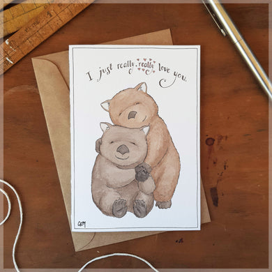 Really, Really - Greeting Card