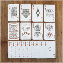 City Sights - Hand Illustrated Playing Card Pack ~ International Landmarks