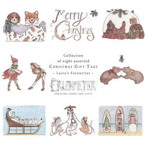 Lucie's Favourites ~ Christmas Gift Tag Collection