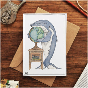 Blue's Planet - Greeting Card