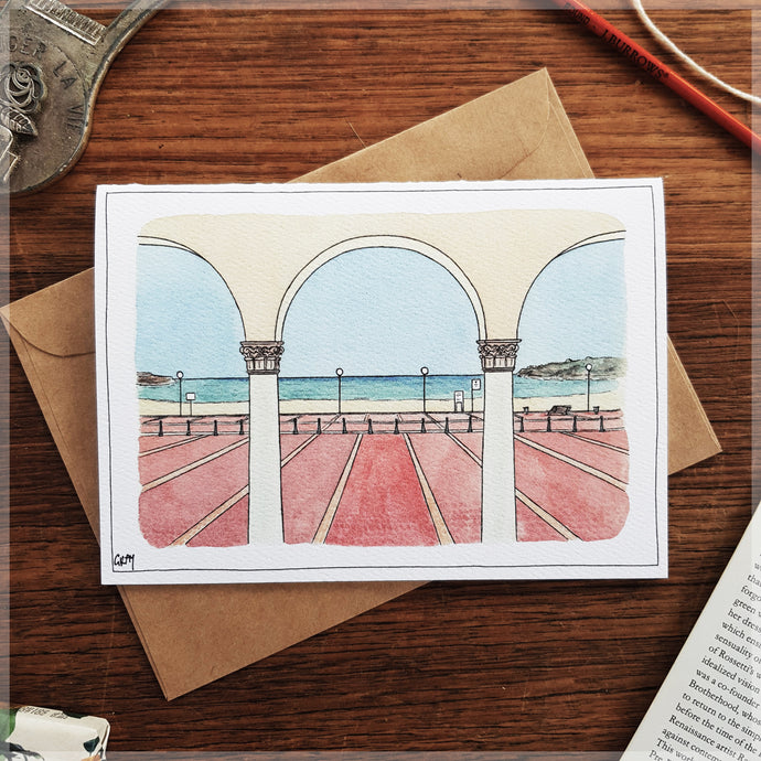 Bondi Beach Pavillion - Greeting Card