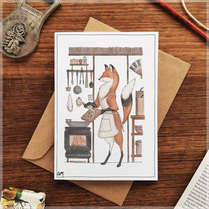 Chop Chop - Greeting Card