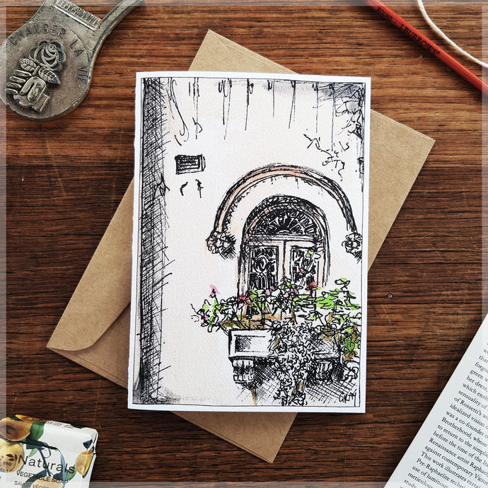French Window - Greeting Card