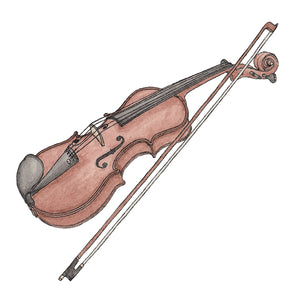 Violin - Greeting Card