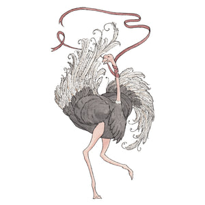 The Ostrich - Greeting Card