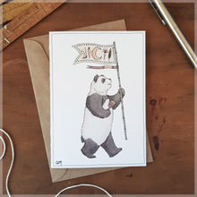 The Panda - Greeting Card