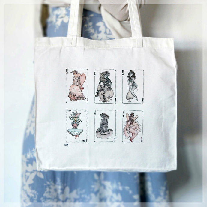 Assorted Vogue Fashion Models - Tote Bag