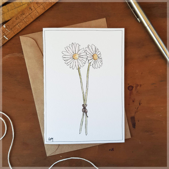 Daisies - Greeting Card
