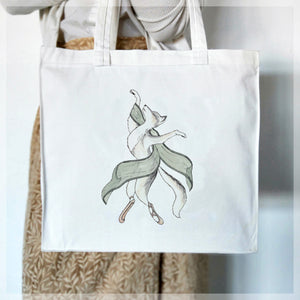 Wolf Dancer - Tote Bag