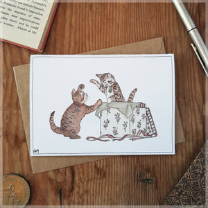 Christmas Kitties - Greeting Card