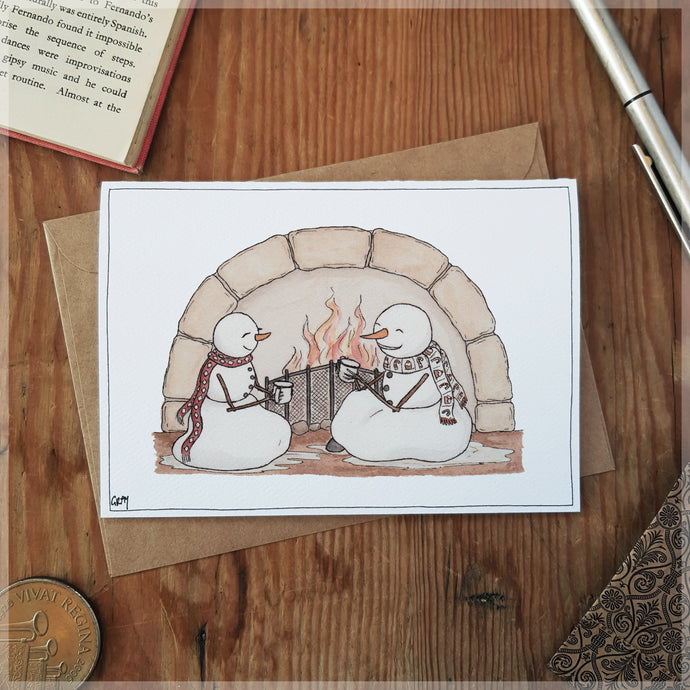 Cosy With Cocoa - Greeting Card