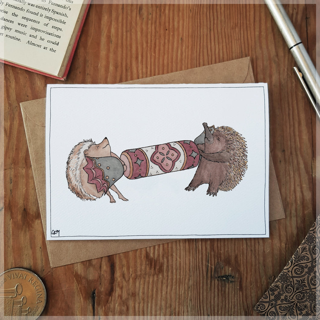 Tug of War - Greeting Card