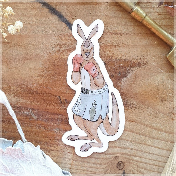 Furry Fighter ~ Vinyl Sticker