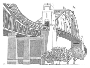 Sydney Harbour Bridge - A3 Art Print