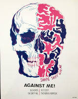 Against Me! 2017 Tour Poster
