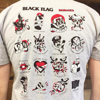 Black Flag Damaged Shirt