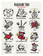Load image into Gallery viewer, Alkaline Trio Good Mourning Tattoo Flash - Jared Gaines Art