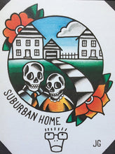 Load image into Gallery viewer, Descendents Suburban Home Print - Jared Gaines Art