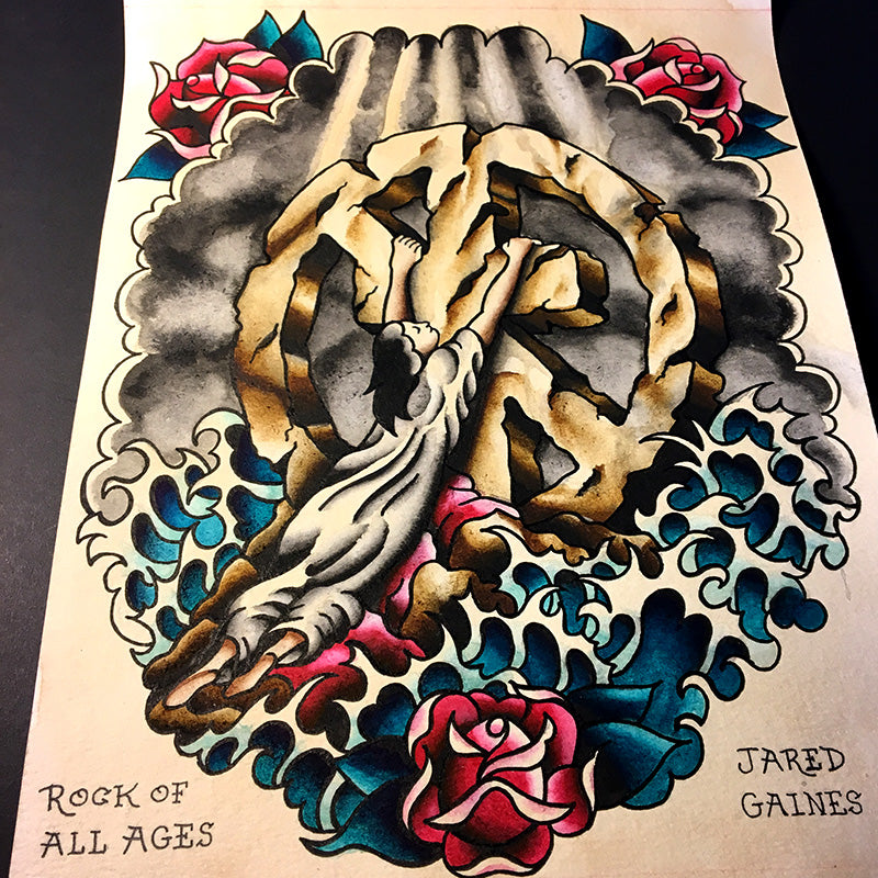 Bad Religion - Rock of All Ages - Jared Gaines Art