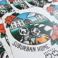 Descendents Suburban Home Print - Jared Gaines Art