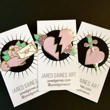 Load image into Gallery viewer, Love Letter Pin - Jared Gaines Art