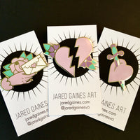 Love Letter Pin - Jared Gaines Art