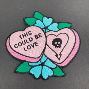 Alkaline Trio Embroidered Patch