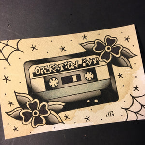 Operation Ivy Cassette - Jared Gaines Art
