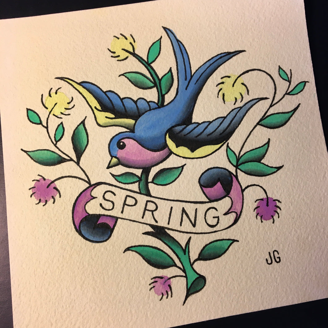 Spring Painting - Jared Gaines Art
