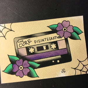 The Cure Cassette - Jared Gaines Art