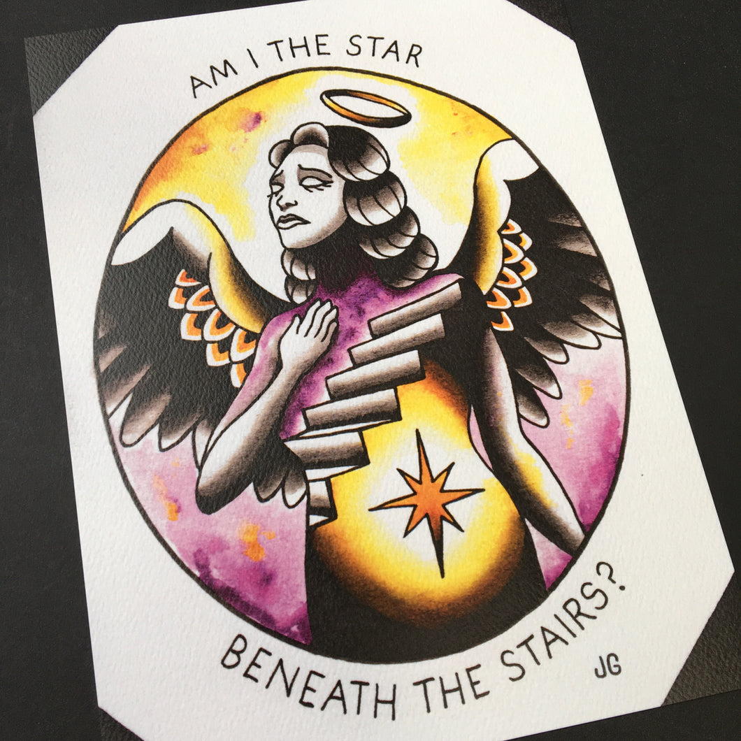 AFI - Morningstar Print - Jared Gaines Art