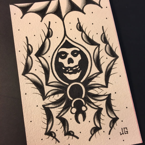Misfits Spider - Jared Gaines Art