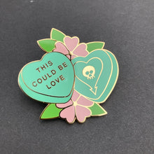 Load image into Gallery viewer, Alkaline Trio Valentine Pin
