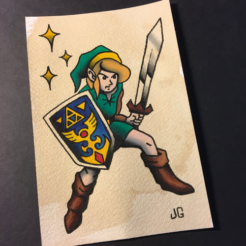 Link - Jared Gaines Art