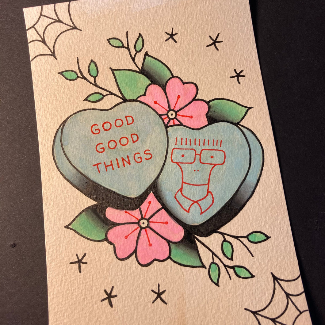 Descendents Valentine Painting