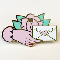 Love Letter tattoo flash pin