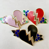 Heart Tattoo Pin