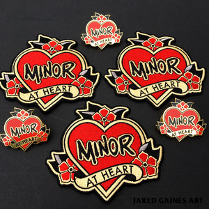 Minor Threat Embroidered Patch - Jared Gaines Art