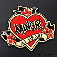 Load image into Gallery viewer, Minor Threat Embroidered Patch - Jared Gaines Art
