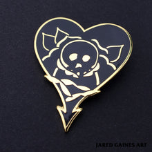 Load image into Gallery viewer, Alkaline Trio Tattoo Pin - Jared Gaines Art