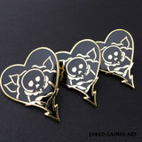 Alkaline Trio Tattoo Pin - Jared Gaines Art