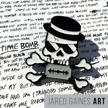 Load image into Gallery viewer, Rancid Time Bomb Pin - Jared Gaines Art