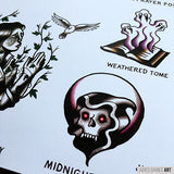 AFI Black Sails Tattoo Flash - Jared Gaines Art