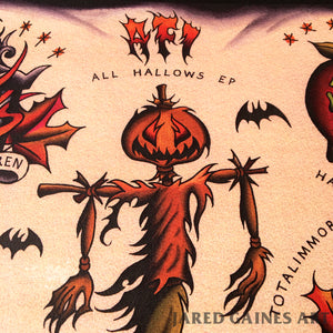 AFI All Hallows Tattoo Flash