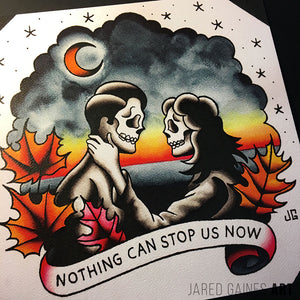 AFI - Wester Tattoo Flash - Jared Gaines Art