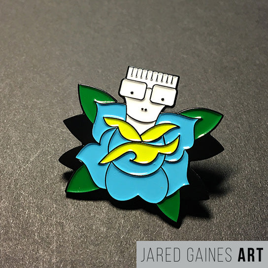 Descendents Tattoo Flash Pin - Jared Gaines Art