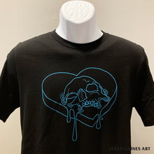Load image into Gallery viewer, Heart Skull Shirt