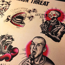 Load image into Gallery viewer, Minor Threat Tattoo Flash - Jared Gaines Art
