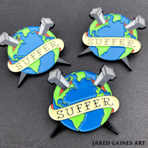 Bad Religion Suffer Pin