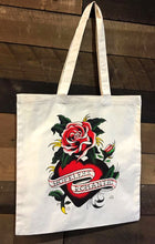 Load image into Gallery viewer, Hopeless Romantic Tote Bag - Jared Gaines Art